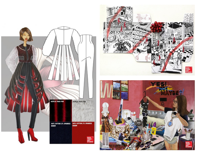 Portfolio tips for creative courses by hamstech institute Fashion designing course subjects