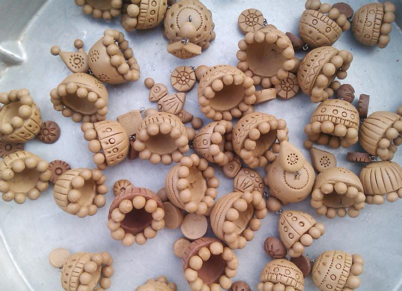 How to do Amazing Jewellery Designing with Terracotta at ...