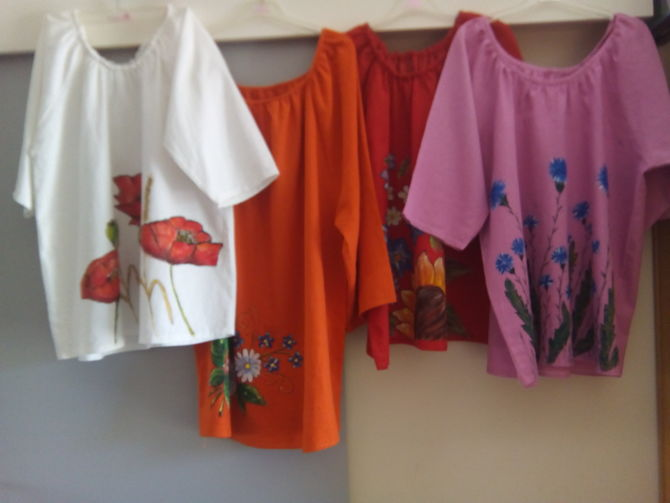 Fashion Designing Practicals Fabric Painting Ideas Hamstech Blog