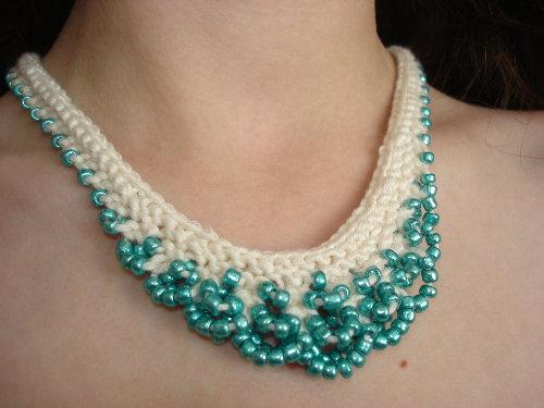 Jewellery Designing Tips To Make Crochet Jewellery Using Beads