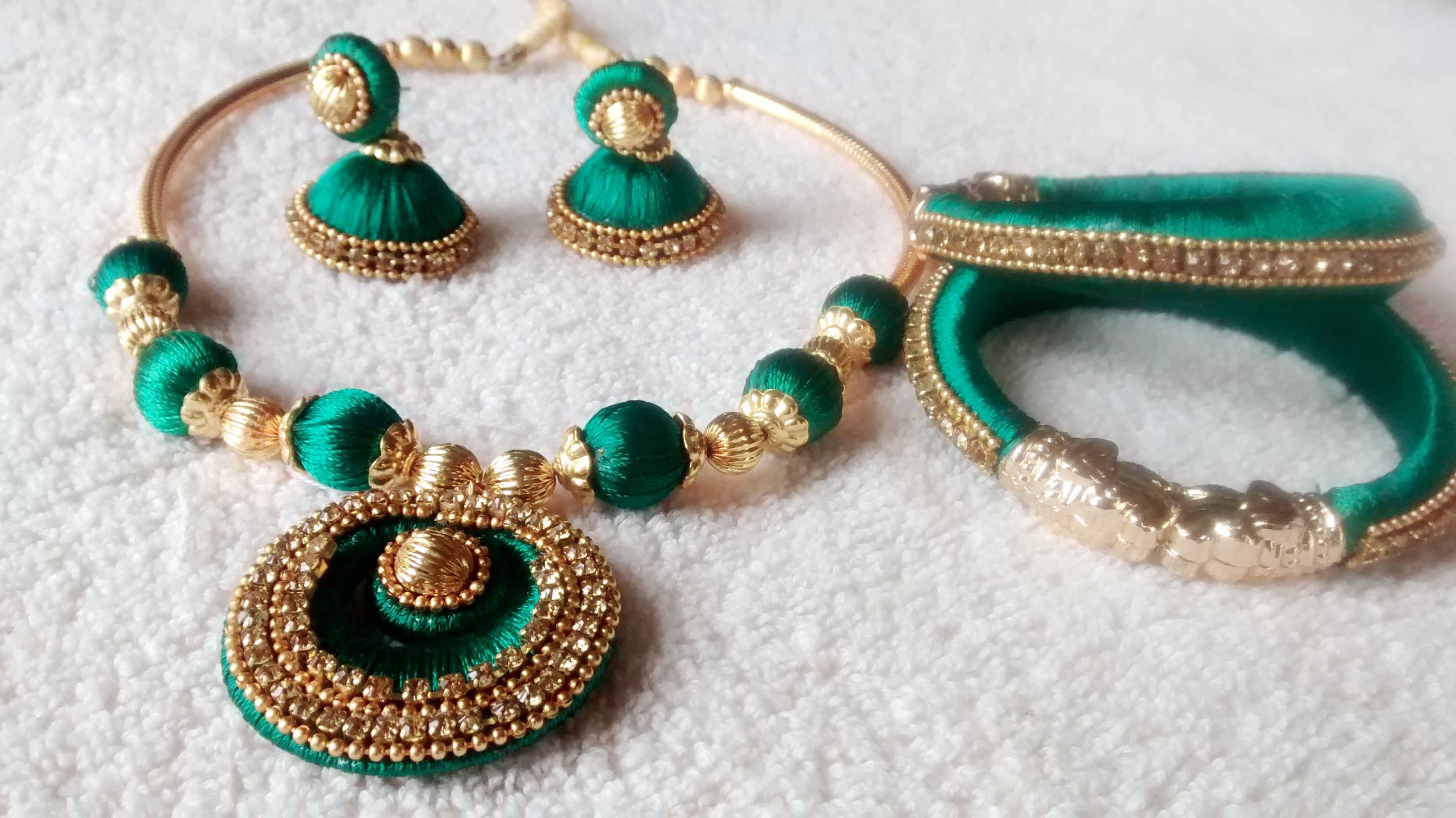 Jewellery Designing Guide To Making Silk Thread