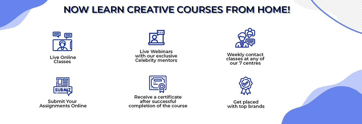 Learn Creative courses from Home