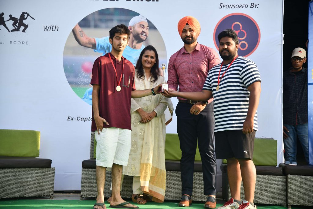 sandeep singh at sports day