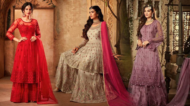 Fashion Tips to Style Your Sharara Suits