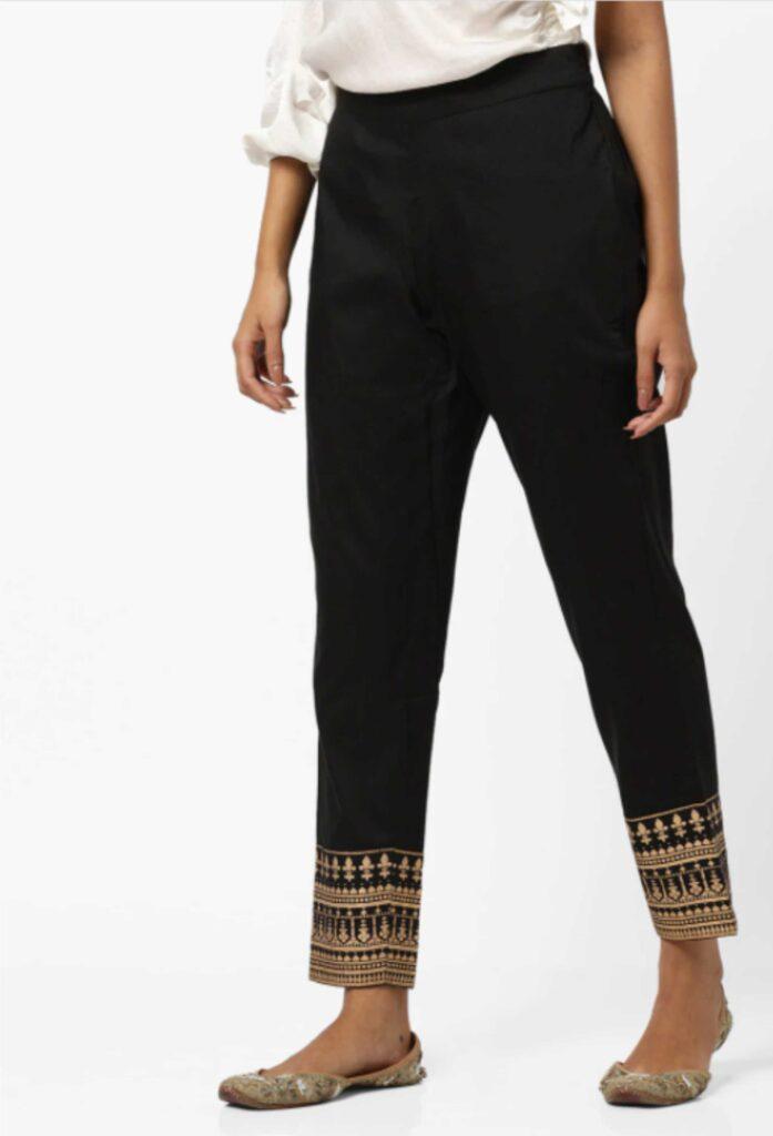 Fashion Designing: Cigarette Pants