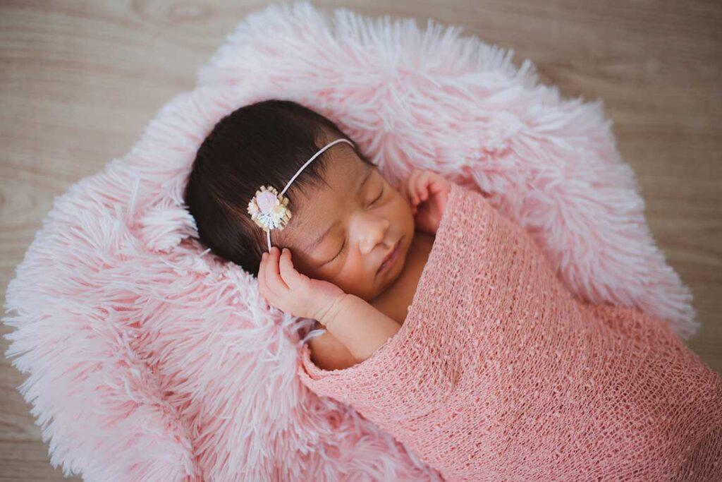 baby photoshoot (Ensure Optimum Lighting)